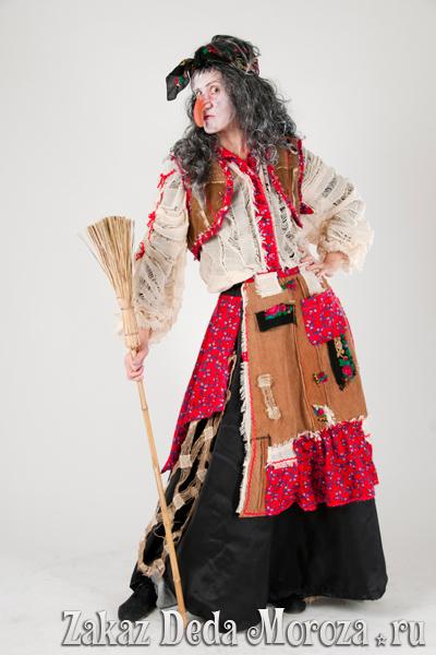 Новогодние костюмы бабы яги своими руками фото